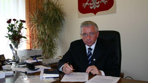 Анджей Леппер, лидер польской партии Самооборона