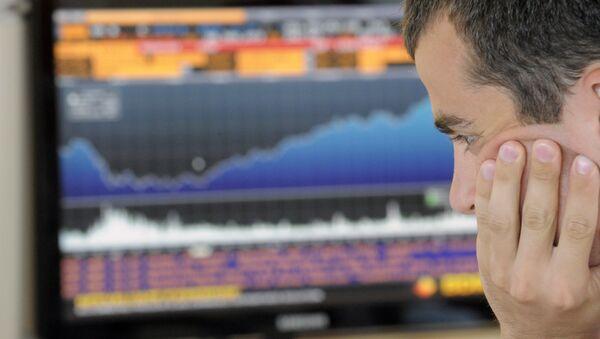 Работа фондовой биржи. Архивное фото