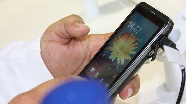Телефон Samsung на платформе Android