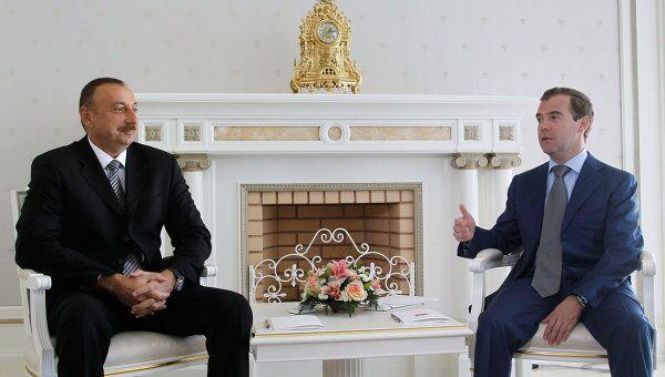 Встреча Дмитрия Медведева и Ильхама Алиева в Сочи