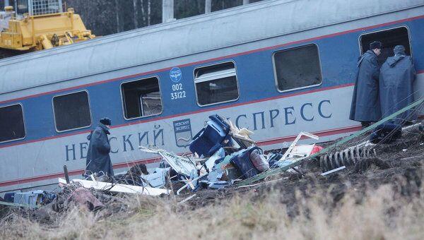 При аварии Невского экспресса погибли 26 человек - Голикова