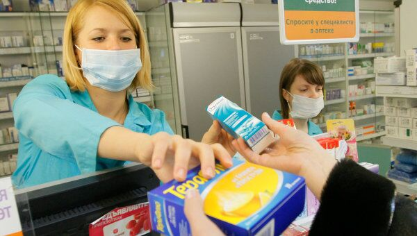 Продажа противовирусных препаратов в аптеках