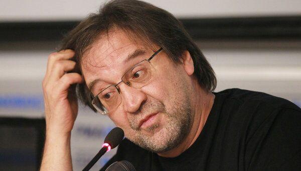 Пресс-конференция лидера группы ДДТ Юрия Шевчука