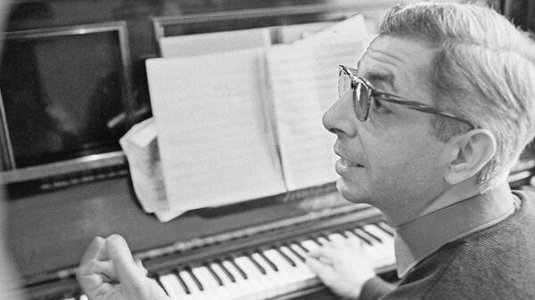 Микаэл Леонович Таривердиев. 1972 год