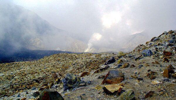 Вулкан Папандаян в провинции Западная Ява в Индонезии. Архивное фото