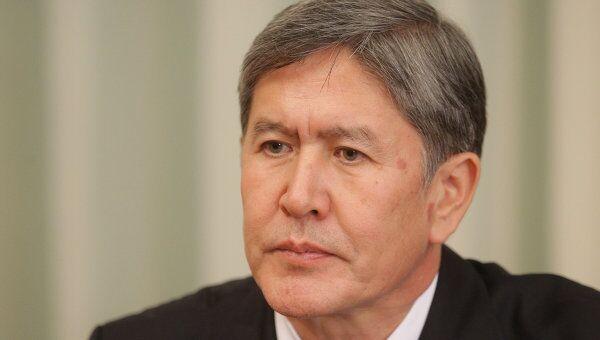 Премьер-министр Киргизии Алмазбек Атамбаев. Архив