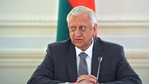 Премьер-министр Белоруссии Михаил Мясникович, архивное фото