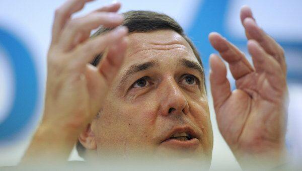 Пресс-конференция Александра Любимова