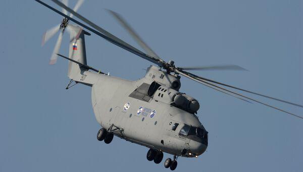 Многоцелевой транспортный вертолет Ми-26. Архивное фото