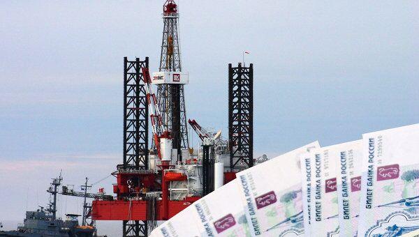 Деньги, станция для добычи нефти