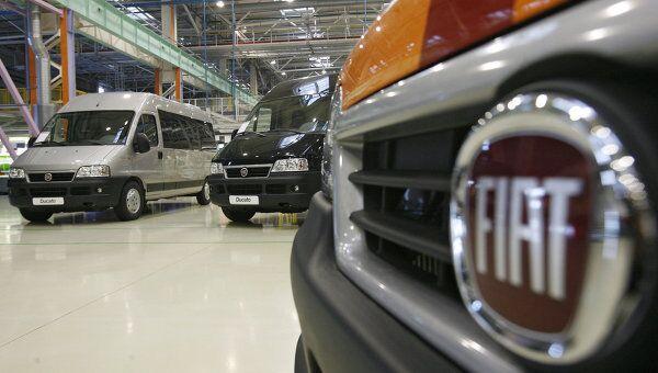 Завод Соллерс-Елабуга по производству автомобилей Fiat Ducato