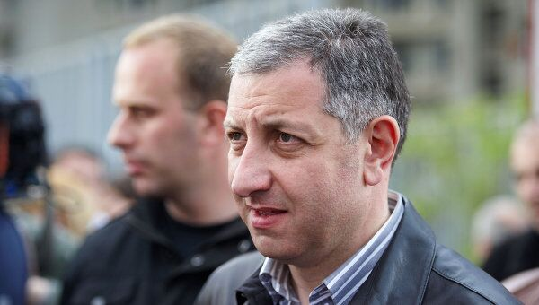Лидер оппозиционного движения За справедливую Грузию, экс-премьер страны Зураб Ногаидели