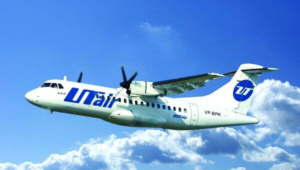 Самолет компании Utair