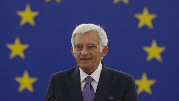 Председатель Европарламента Ежи Бузек.