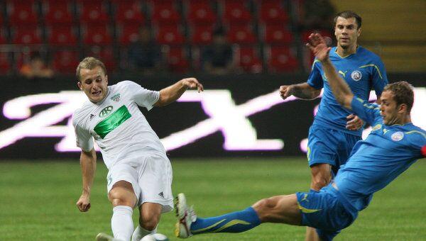 Игровой момент матча Терек - Ростов