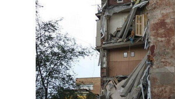 В центре Владивостока обрушился жилой дом