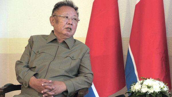 Лидер КНДР Ким Чен Ир. Архив