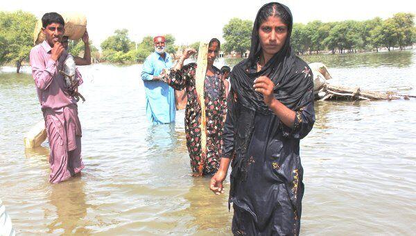 Наводнение в Пакистане. Архивное фото