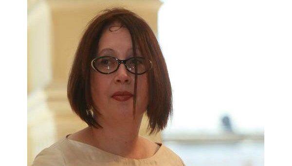Писательница Ольга Славникова, лауреат премии Русский Букер 2006 года