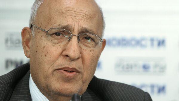 П/к члена ЦК Палестинского национально-освободительного движения (ФАТХ) доктора Набиля Шаата