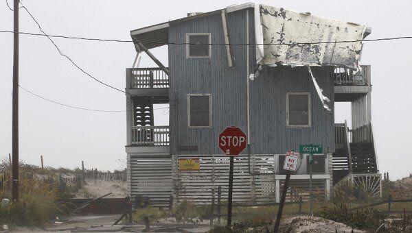 Последствия урагана Айрин в Северной Каролине