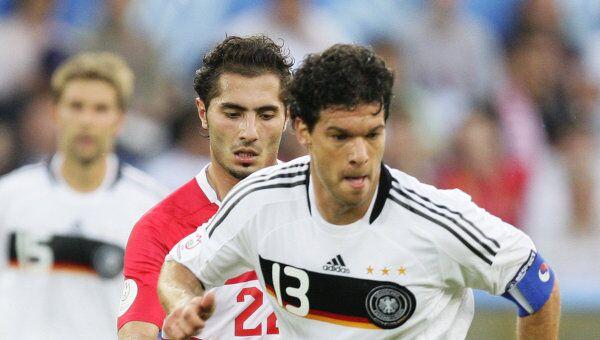 Немецкая сборная по футболу и михаэль баллак