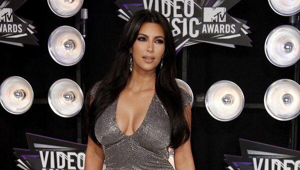 Ким Кардашьян на вручении наград MTV Video Music Awards