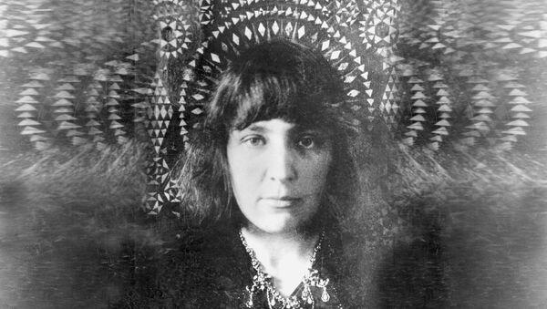Марина Цветаева. Архивное фото