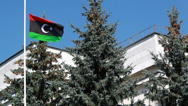 Посольство Ливии в Москве. Архивное фото