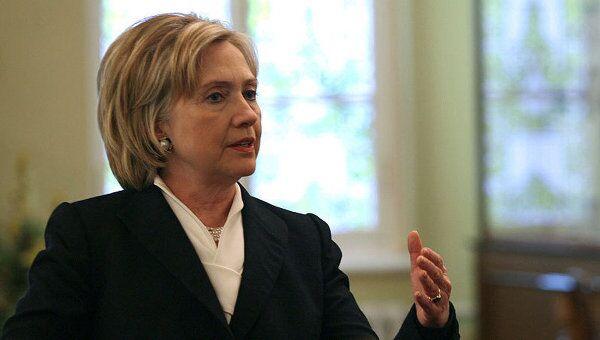 Государственный секретарь США Хиллари Клинтон. Архив