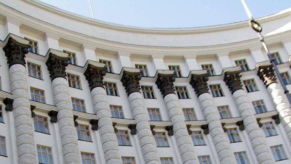 Здание Верховной Рады Украины. Архив