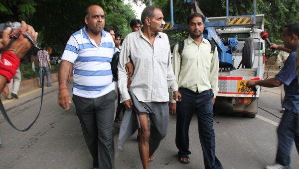 Пострадавшие при взрыве в Нью-Дели