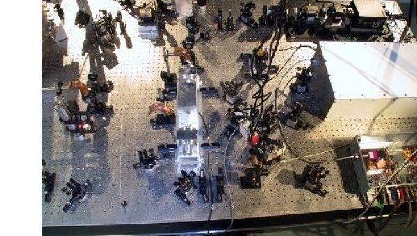 Лазерная установка GEO600