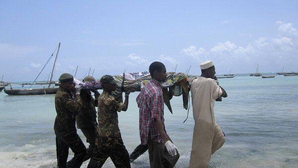 Крушении парома у берегов Танзании и Занзибара
