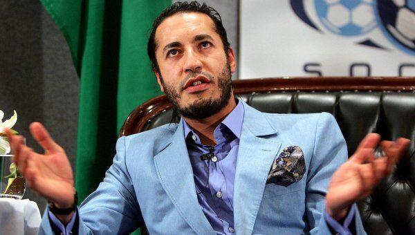 Саади Каддафи. 2005 год