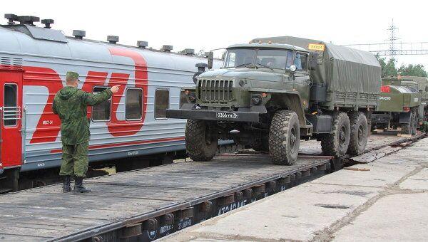 Отправка российских военных в Казахстан для участия в учениях