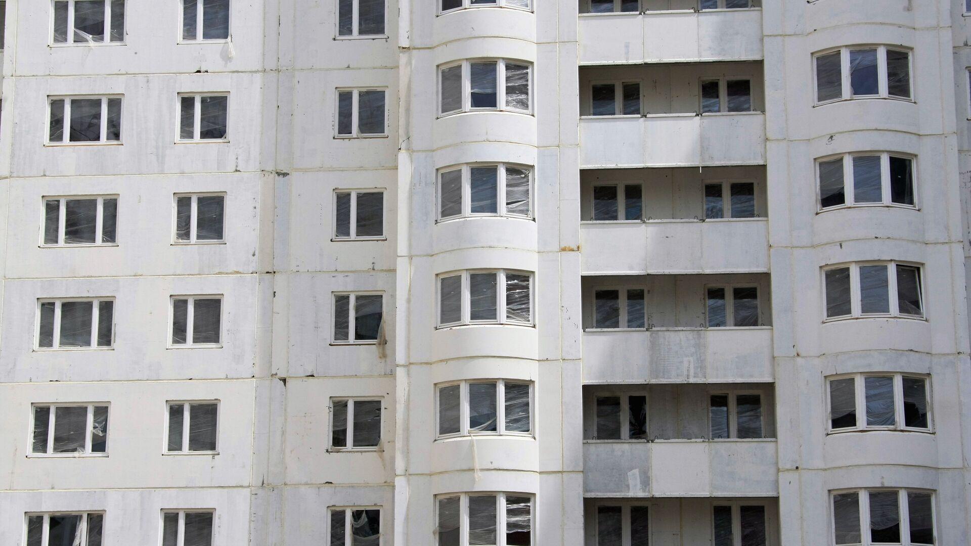 Строительство панельных домов в Москве - РИА Новости, 1920, 05.01.2021