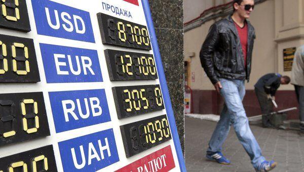 Курс обмена валют в Белоруссии 15 сентября 2011 года. Архив