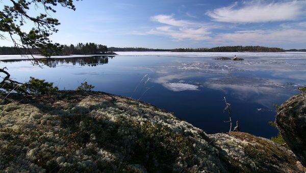 Озеро в Финляндии. Архивное фото