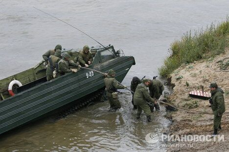 Российско-белорусские учения Щит Союза-2011