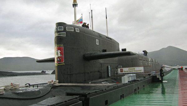 Ракетный подводный крейсер стратегического назначения Святой Георгий Победоносец. Архив