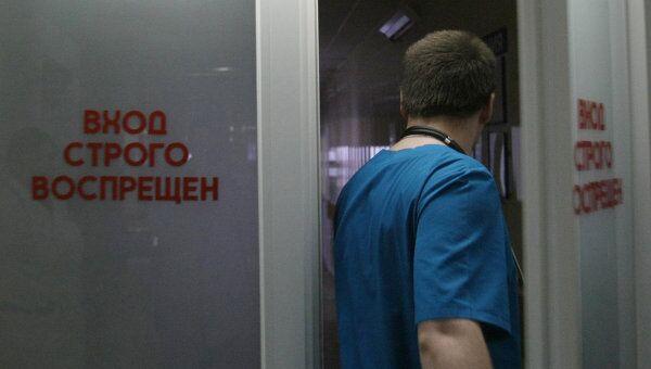 Вход в больничную палату. Справка