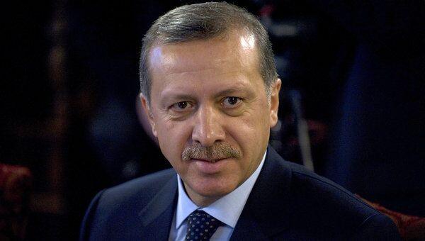 Премьер-министр Турции Реджеп Тайип Эрдоган. Архив