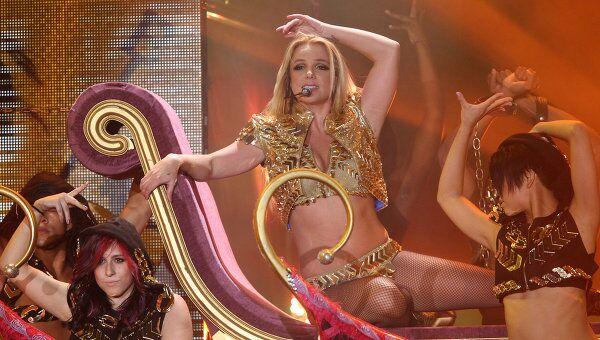 Концерт певицы Бритни Спирс в Москве