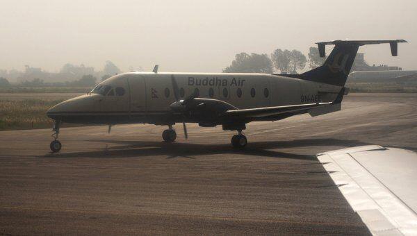 Самолет Beechcraft непальской авиакомпании Будда Эйр