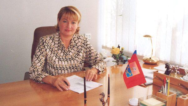 Начальница финансового управления администрации Подольска Вера Свиридова