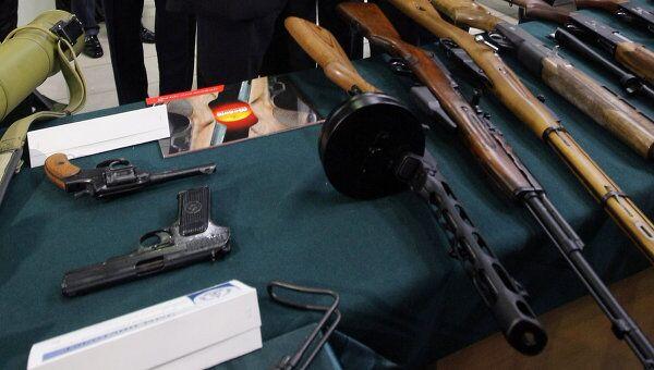 Образцы стрелкового оружия ОАО Ижмаш