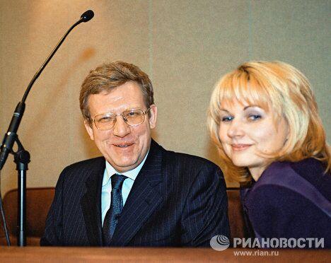 Министр финансов РФ А.Кудрин и зам. министра финансов Т.Голикова