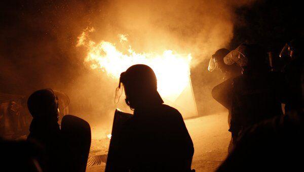 Беспорядки в Болгарии