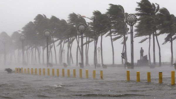 Последствия тайфуна Нисат на северо-востоке Филиппин